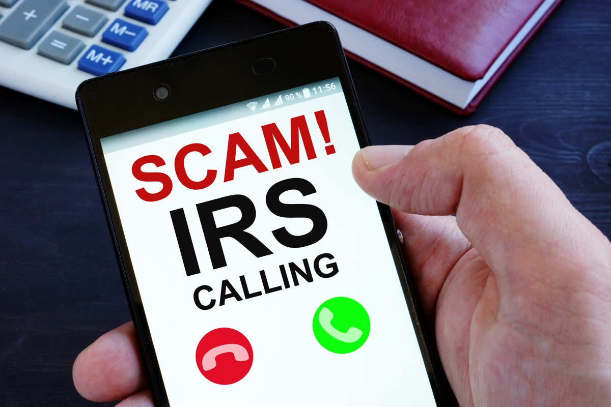 IRS IMPERSONATION SCAM