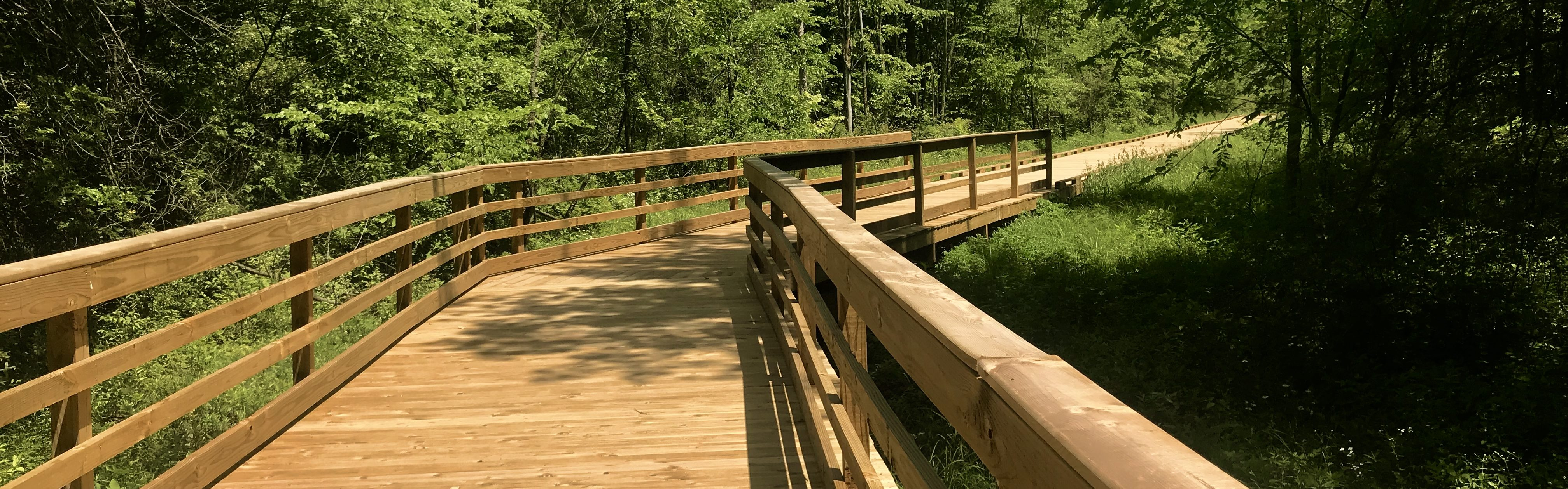 VISIT THE BOARDWALK NATURE TRAIL